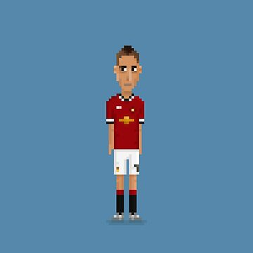 Angel Di María - Manchester United by pixelfaces