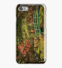 A Quiet Afternoon in the Garden iPhone Case/Skin