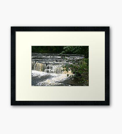 Aysgarth Falls - Yorks Dales. Framed Print