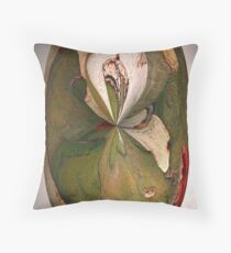La piel del árbol Throw Pillow