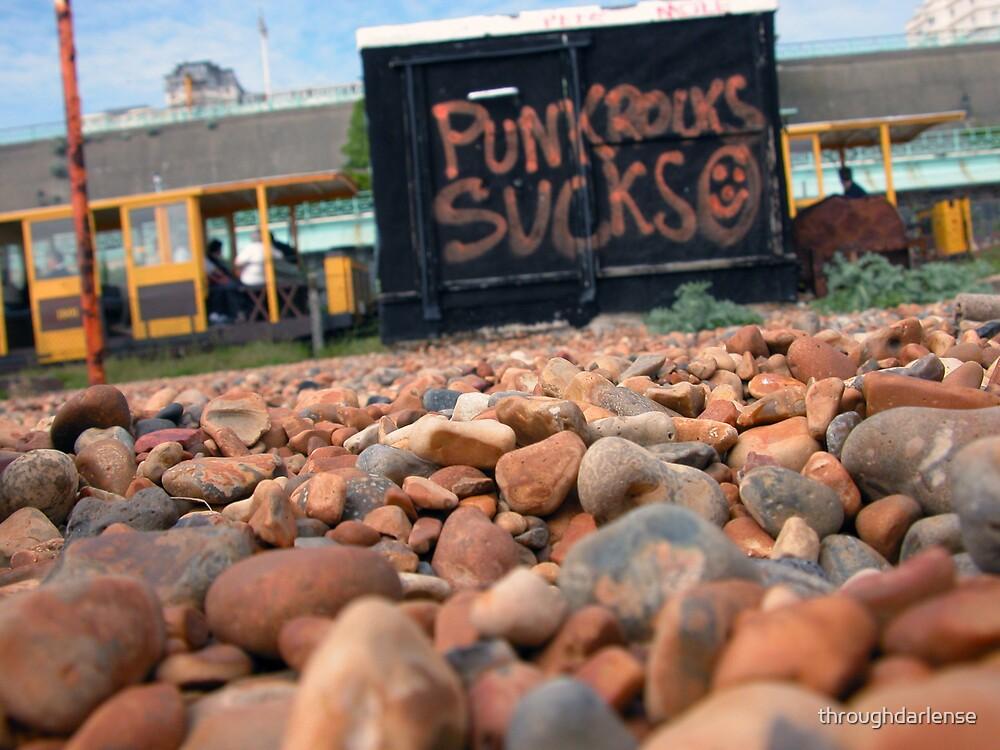 Punk Rock Sucks by throughdarlense