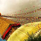 Boudha Stupa by TristanPhoenix