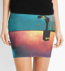Peace for Lonely Monsters Mini Skirt