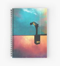 Peace for Lonely Monsters Spiral Notebook