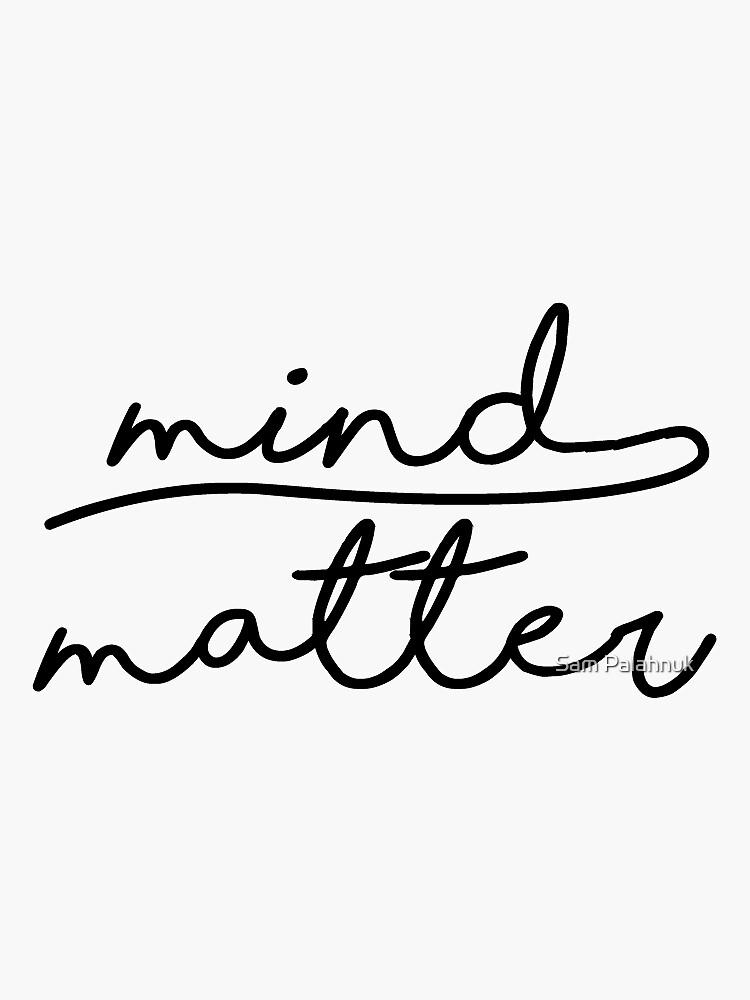 mind over matter by sampalahnukart