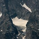 Falling Ice Glacier, Mount Moran by Daniel Owens