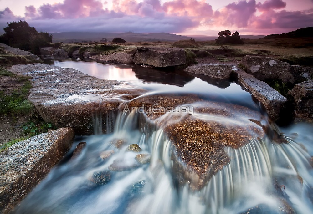 Dawn Falls by AndyCosway