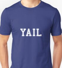 Yail (white letters) Slim Fit T-Shirt