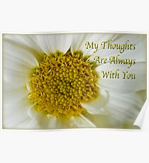 My Thoughts Are Always With You Poster