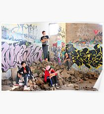 Sydney Rockstarz among the rubbles Poster