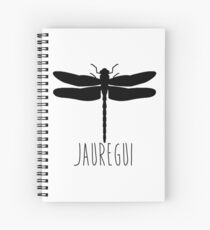 Cuaderno de espiral Libélula Jauregui