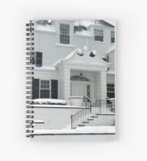 GRAND ENTRANCE WITH SNOW Spiral Notebook
