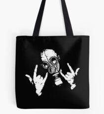 Devil Horns (White Version) Tote Bag