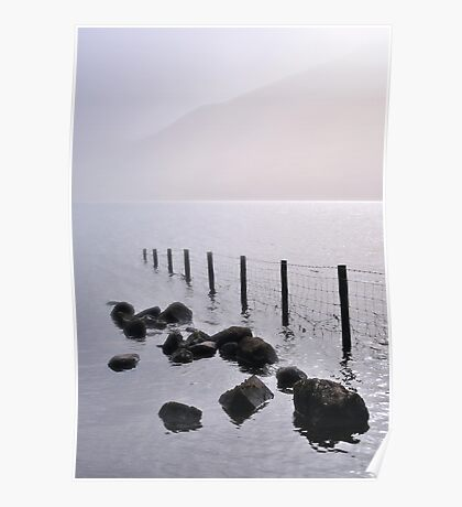 Misty morning, Wastwater Poster