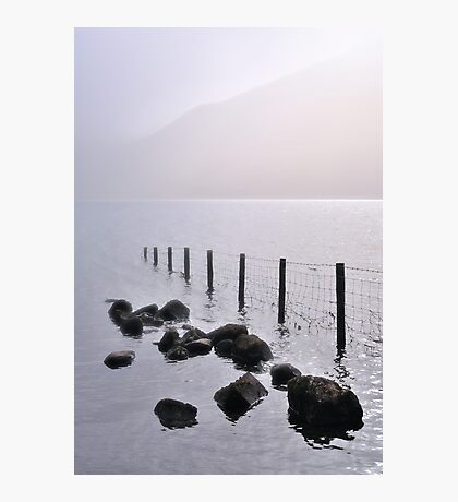 Misty morning, Wastwater Photographic Print