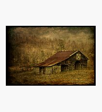 Slightly Out of Kilter Photographic Print