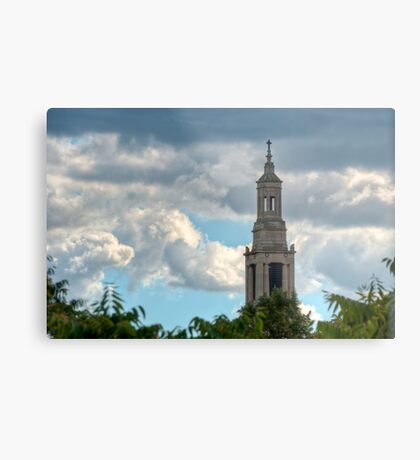 St Luke's Church Spire. Metal Print