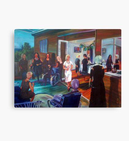 Tina's surprise 40th Birthday - Commission Canvas Print
