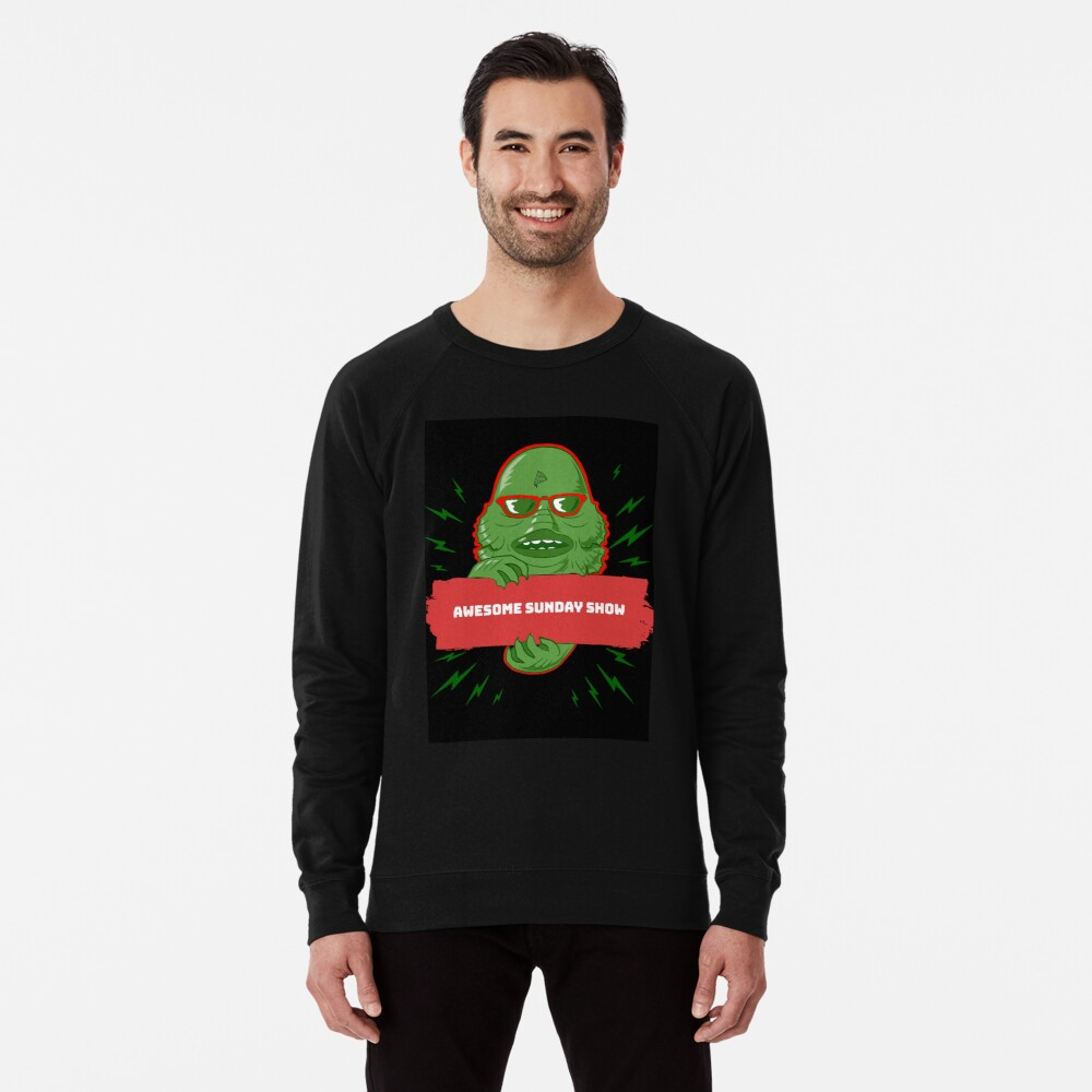 Swamp Monster Lightweight Sweatshirt
