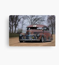 1942 Chevrolet 'Lowrider' Fleetline Sedan Canvas Print