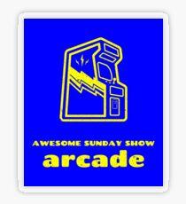 Arcade Transparent Sticker