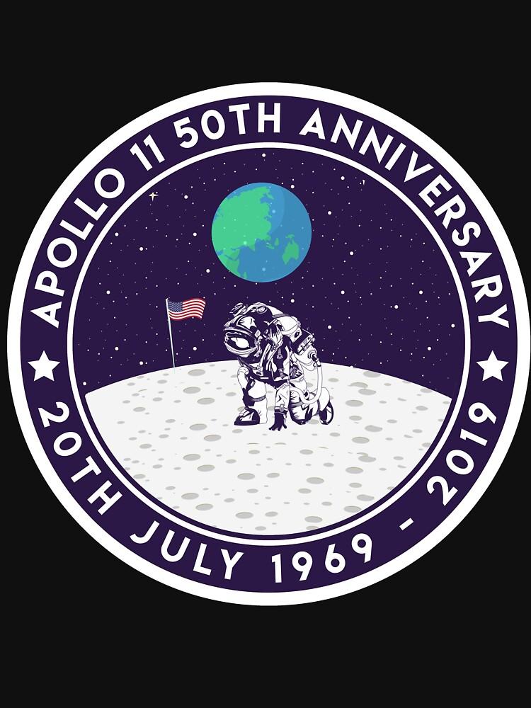 Apollo 11 50th Anniversary Moon Landing 1969 2019 Astronaut von despicav