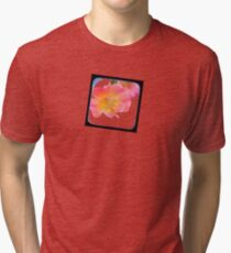 just a small flower Tri-blend T-Shirt