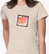 just a small flower Women's Fitted T-Shirt