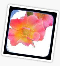just a small flower Sticker