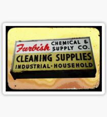 furbish cleaners Sticker