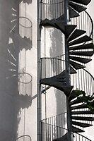 Paris - Fire escape by Jean-Luc Rollier