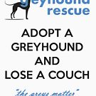 Adopt and Lose a Couch by GreyhoundRescue