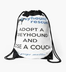 Adopt and Lose a Couch Drawstring Bag
