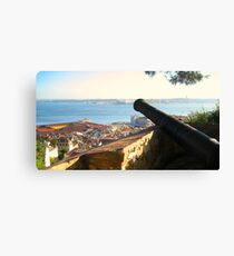 Canon Ball View Canvas Print