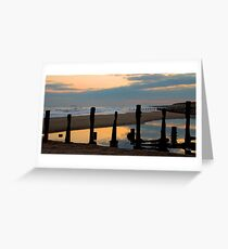 Spurn Point, East Yorkshire Greeting Card