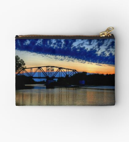 Sunset over the Taylor Bridge Studio Pouch
