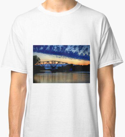 Sunset over the Taylor Bridge Classic T-Shirt