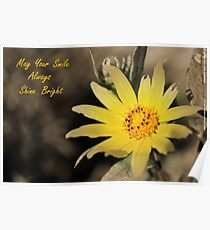 May Your Smile Always Shine Bright Poster