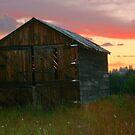 Rustic Sunset by Cheri Bouvier-Johnson