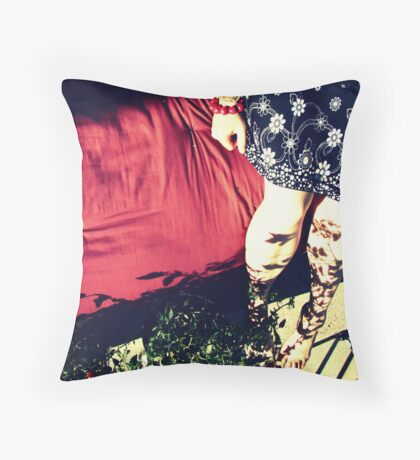 Butterflies are Passive Agressive Throw Pillow
