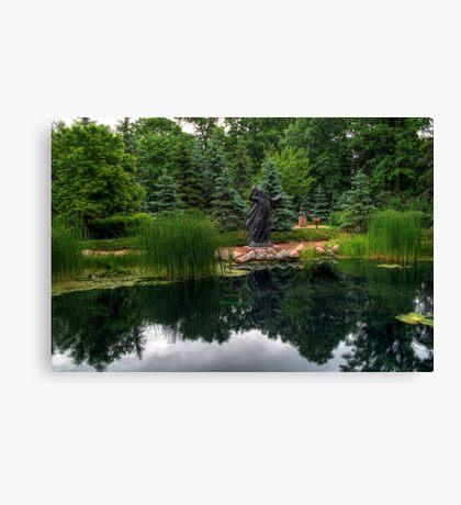 Leo Mol Sculpture Gardens Canvas Print
