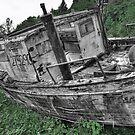Ghost ship by Bob Hortman