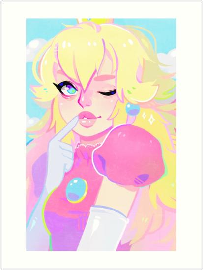 peach by monstergf