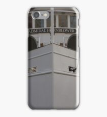 Admiral Hornblower Stands Tall iPhone Case/Skin