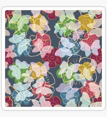 Butterflowers Glossy Sticker