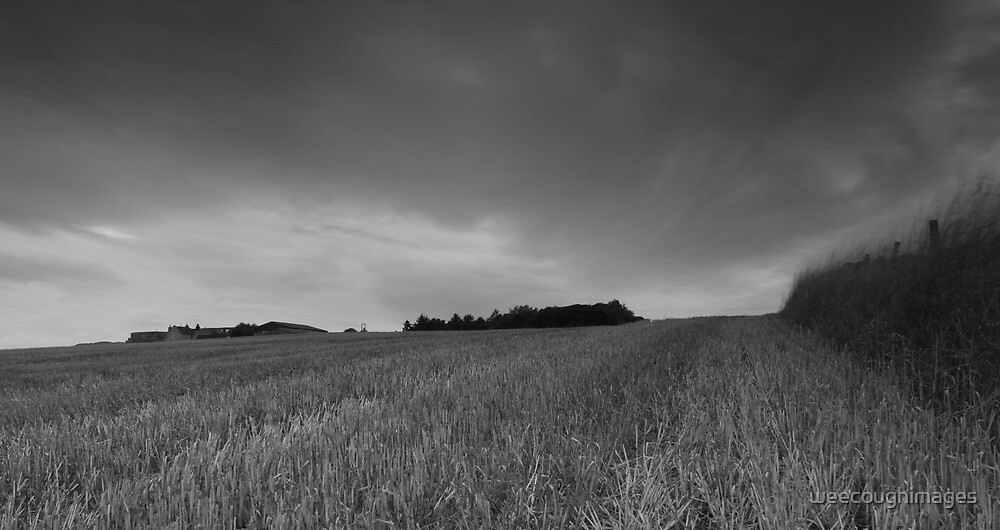Farm on the hill by weecoughimages