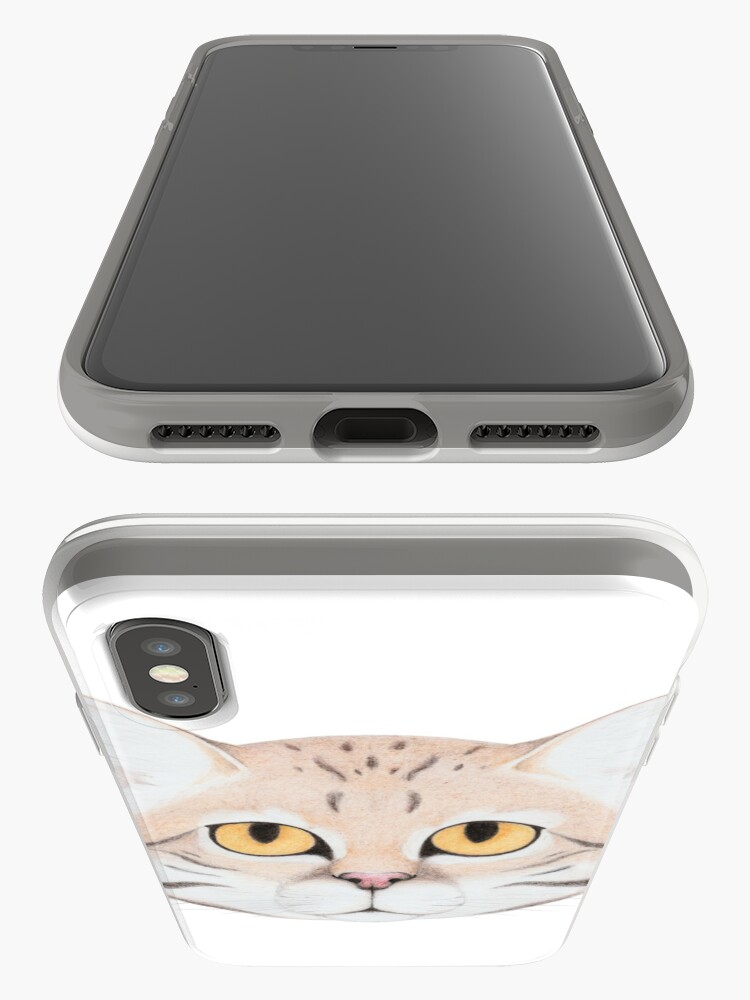 Alternate view of Black-footed Cat iPhone Case & Cover