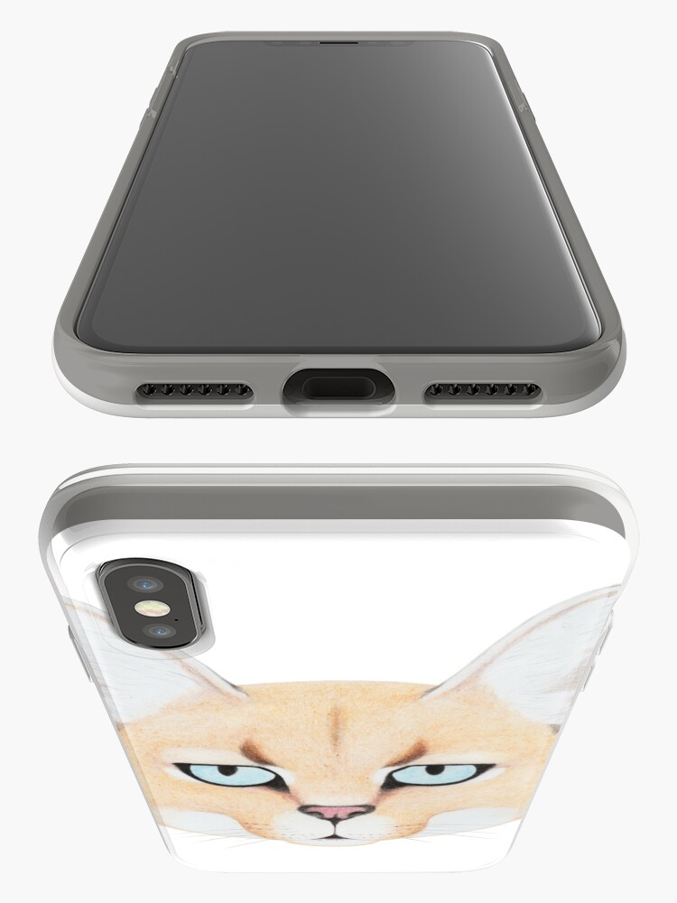 Alternate view of African Golden Cat iPhone Case & Cover