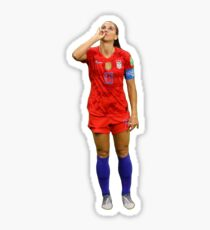 alex morgan tea Sticker