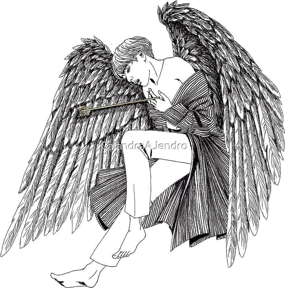 Bts V Blood Sweat And Tears Wings Fallen Angel By Calandraajendro
